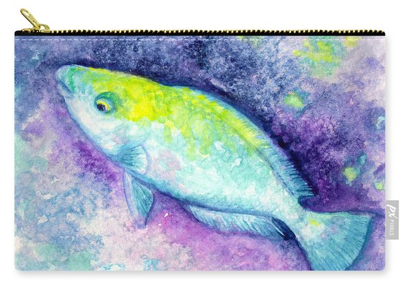 Blue Parrotfish Carry-all Pouch