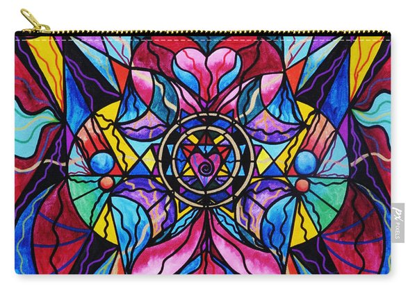 Blue Ray Healing Carry-all Pouch