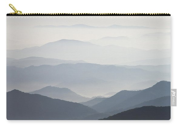 Blue Ridge Mountains View From Roan Mountain Balds Carry-all Pouch