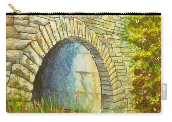 Blue Ridge Tunnel Carry-all Pouch