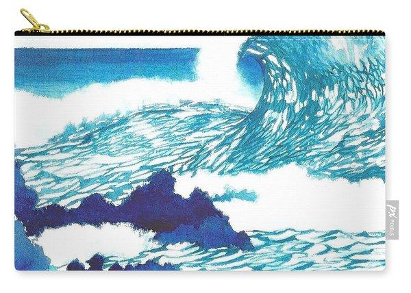 Blue Roar Carry-all Pouch