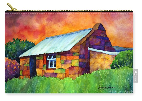 Blue Roof Cottage Carry-all Pouch