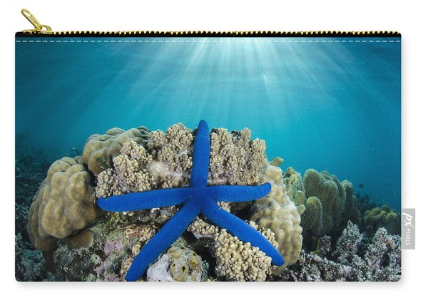 Blue Sea Star Fiji Carry-all Pouch