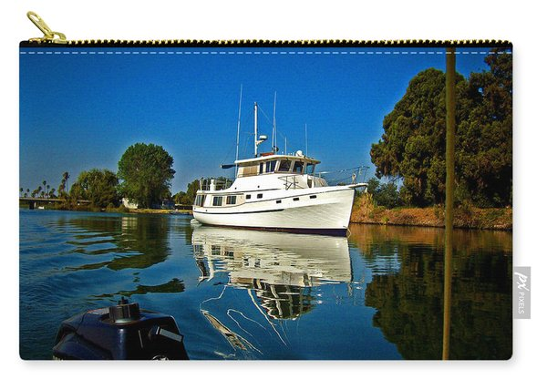 Blue Sky And Blue Water Carry-all Pouch