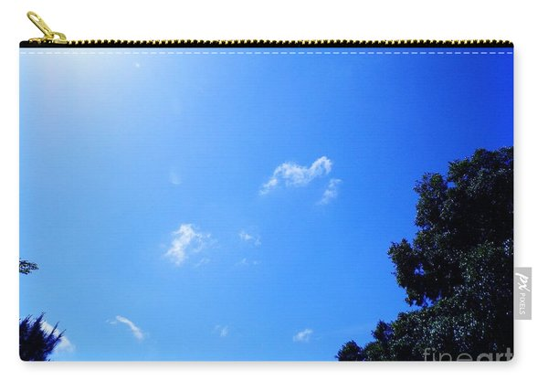 Blue Sky And Sunshine Carry-all Pouch