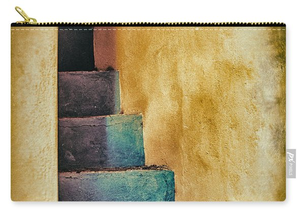 Blue Stairs - Yellow Wall    Carry-all Pouch