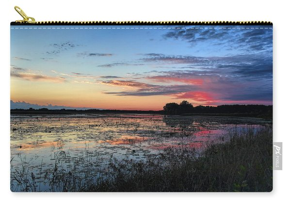 Blue Sunset Over The Refuge Carry-all Pouch