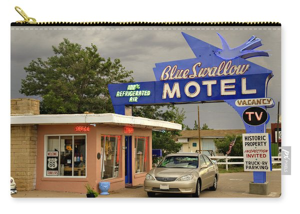 Blue Swallow Motel Carry-all Pouch