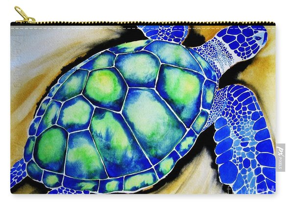 Blue Turtle Carry-all Pouch