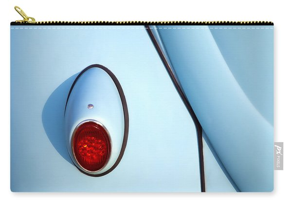 Blue Vw Bug Taillight Carry-all Pouch