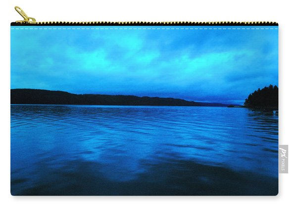 Blue Water In The Morn  Carry-all Pouch