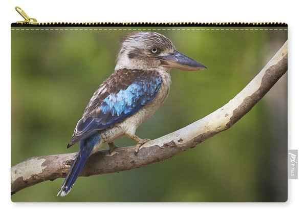 Blue-winged Kookaburra Queensland Carry-all Pouch