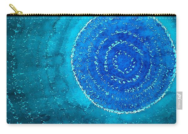 Blue World Original Painting Carry-all Pouch