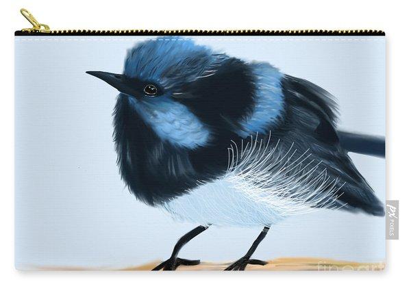 Blue Wren Beauty Carry-all Pouch