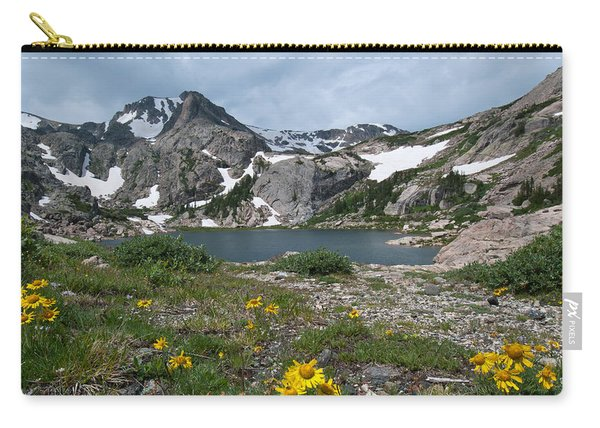 Bluebird Lake - Colorado Carry-all Pouch