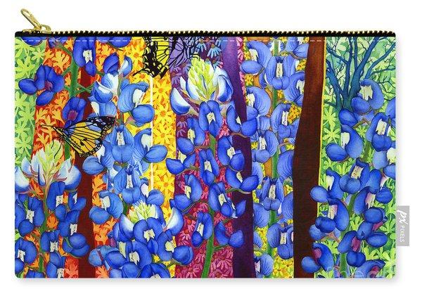 Bluebonnet Garden Carry-all Pouch