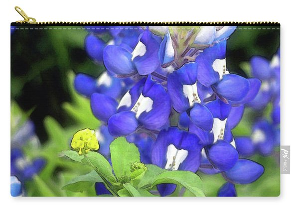 Bluebonnets Blooming Carry-all Pouch