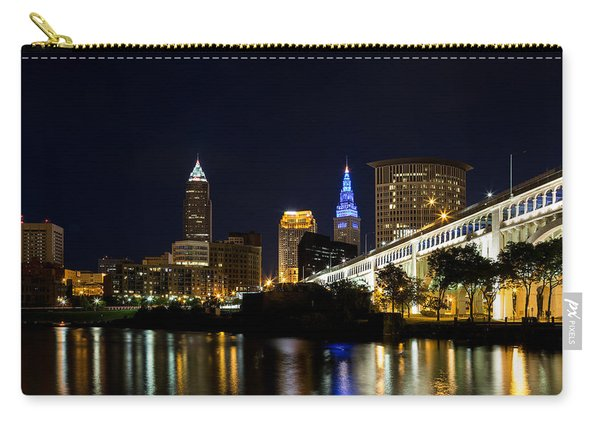 Blues In Cleveland Ohio Carry-all Pouch