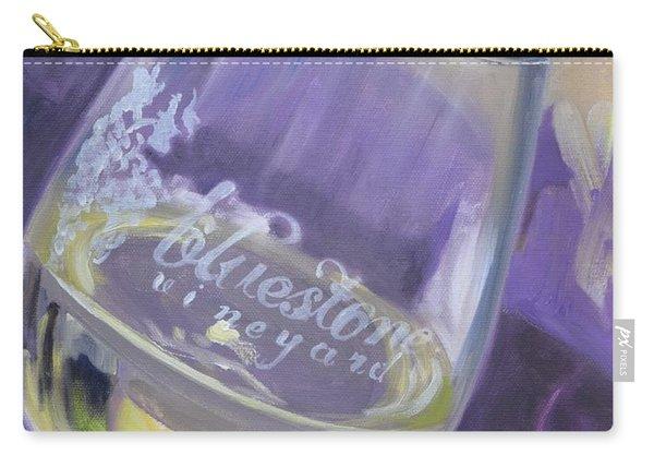 Bluestone Vineyard Wineglass Carry-all Pouch