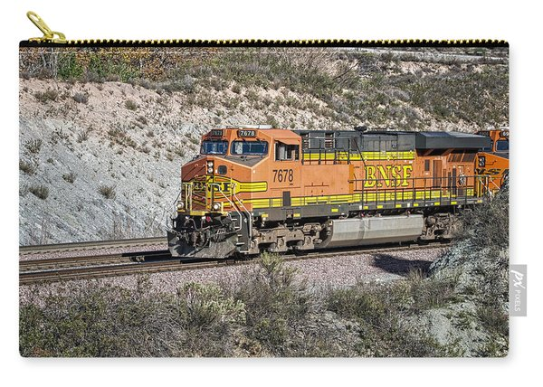 Carry-all Pouch featuring the photograph Bn 7678 by Jim Thompson