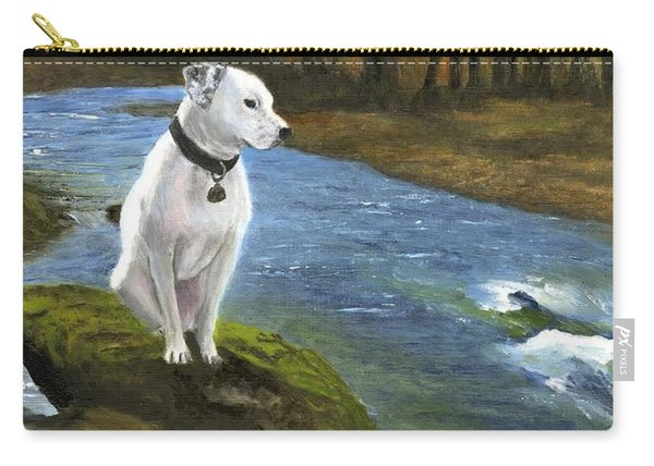 Bo At The Patapsco Carry-all Pouch