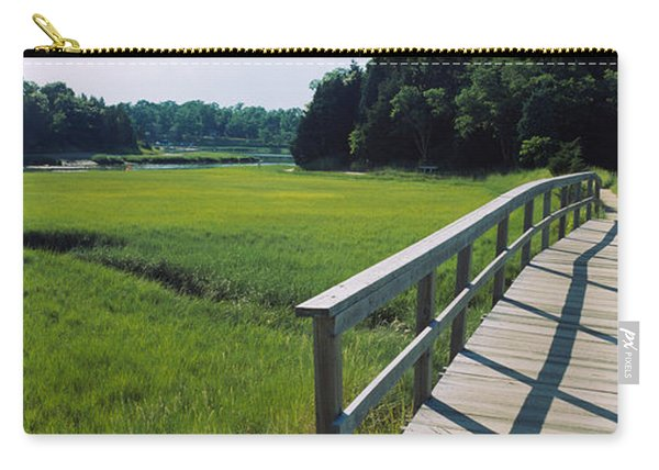 Boardwalk In A Field, Nauset Marsh Carry-all Pouch