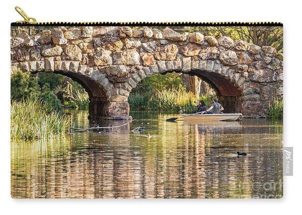 Boaters Under The Bridge Carry-all Pouch