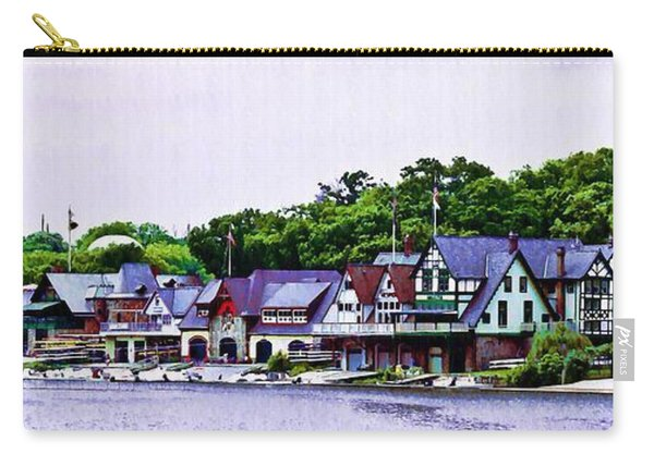 Boathouse Row Panarama Carry-all Pouch