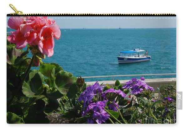Boating In Chicago Carry-all Pouch