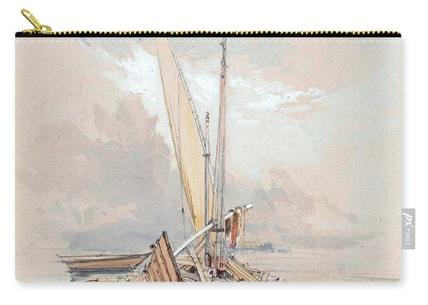 Boats At Quayside Lake Geneva Carry-all Pouch