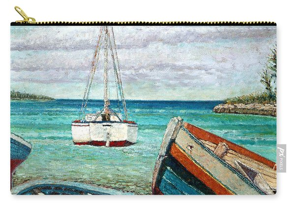 Boats By The Bay Carry-all Pouch