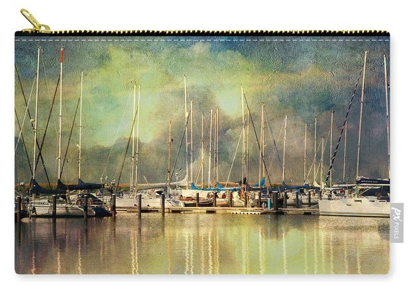 Boats In Harbour Carry-all Pouch