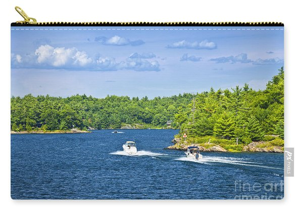 Boats On Georgian Bay Carry-all Pouch