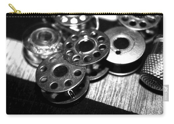 Bobbins 2 Bw Carry-all Pouch