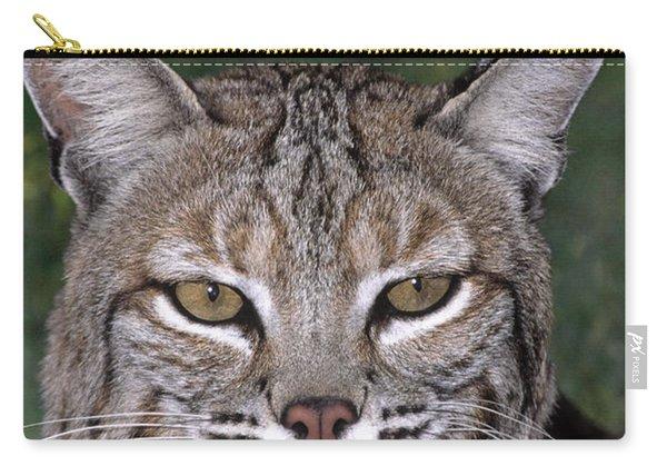 Bobcat Portrait Wildlife Rescue Carry-all Pouch