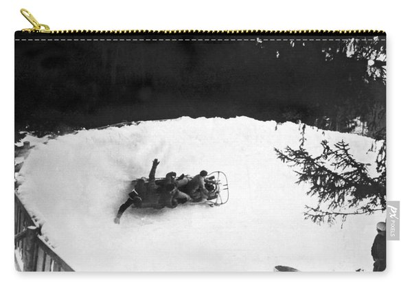 Bobsled Run In Switzerland Carry-all Pouch
