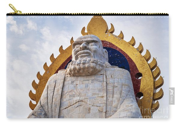 Bodhidharma Statue On Mount Song In Dengfeng China Carry-all Pouch