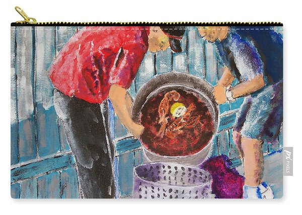 Boiling Mud Bugs Carry-all Pouch