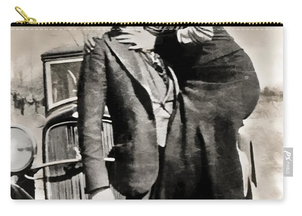 Bonnie And Clyde - Texas Carry-all Pouch
