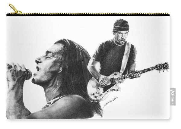Bono And The Edge Carry-all Pouch
