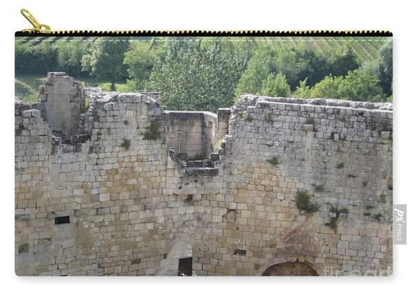 Bordeaux Castle Ruins With Vineyard Carry-all Pouch
