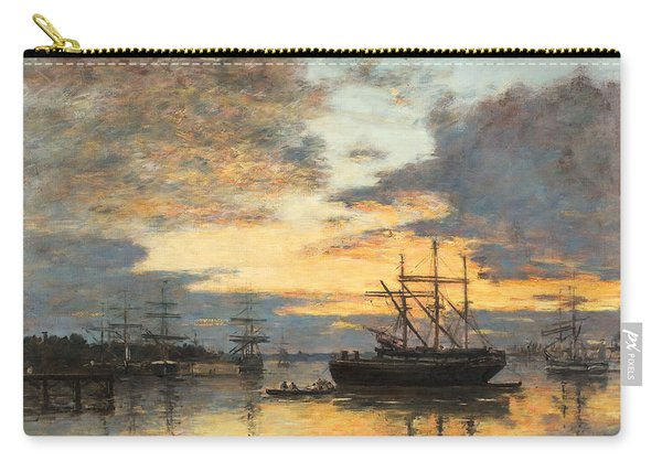 Bordeaux In The Harbor Carry-all Pouch