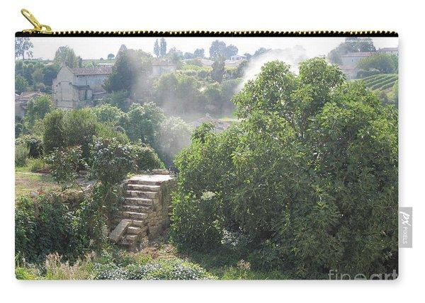Bordeaux Village Cloud Of Smoke  Carry-all Pouch