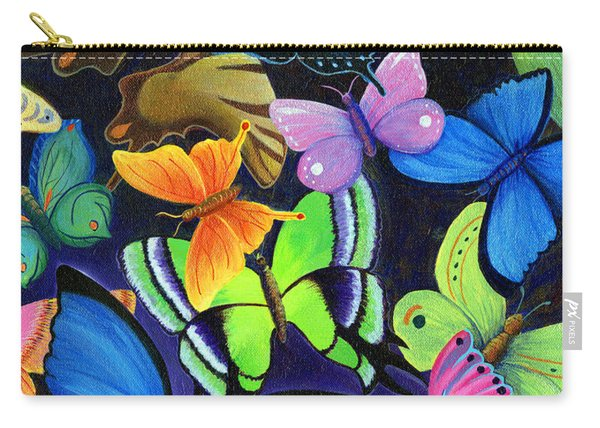 Carry-all Pouch featuring the painting Born Again by Nancy Cupp