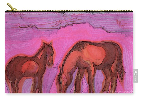 Born On The Mesa By Jrr Carry-all Pouch