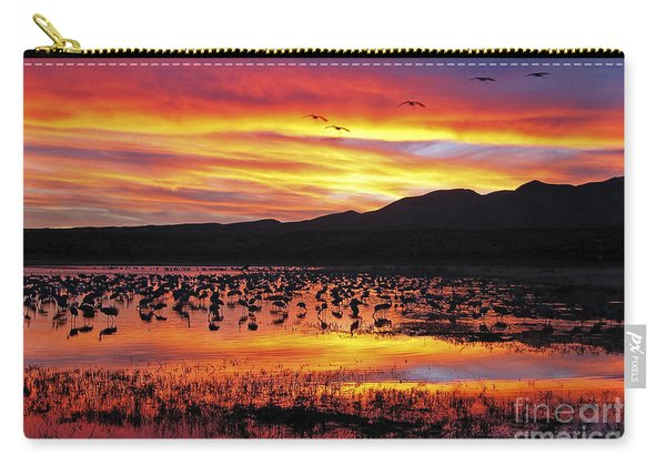 Bosque Sunset II Carry-all Pouch