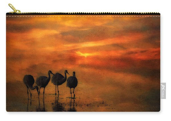 Bosque Sunset Carry-all Pouch