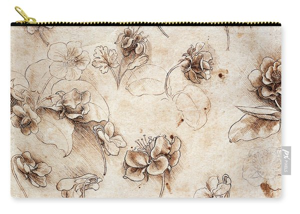Botanical Table Carry-all Pouch
