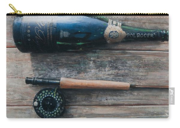Bottle And Rod I Carry-all Pouch