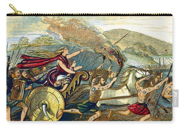 Boudica Leading British Tribes, 60 Ad Carry-all Pouch